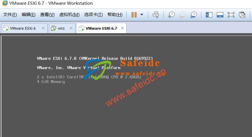 VMware ESXi 6.7官方下载的iso:VMware-ESXi-6.7.0-8169922