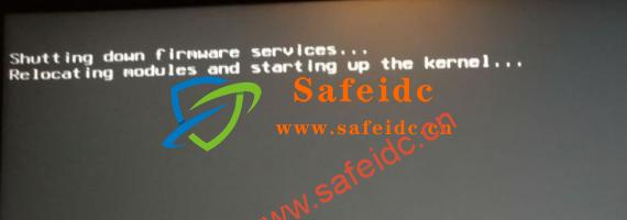 安装esxi会出现 Shutting down firmware services… 错误无法引导的情况解决方法